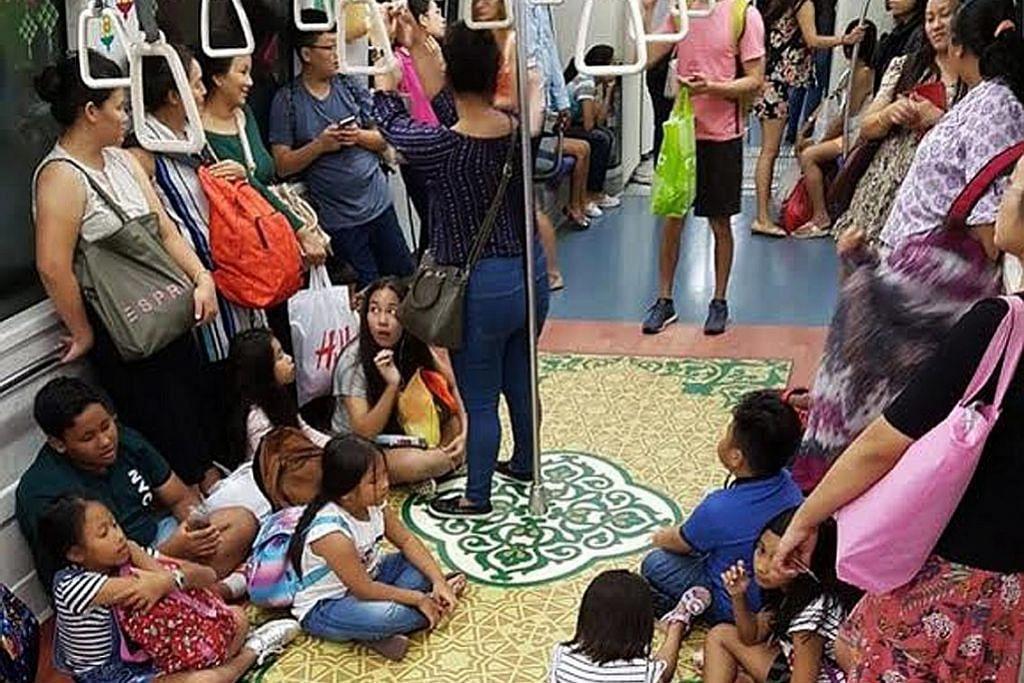 Warga asing di balik gambar popular MRT Raya