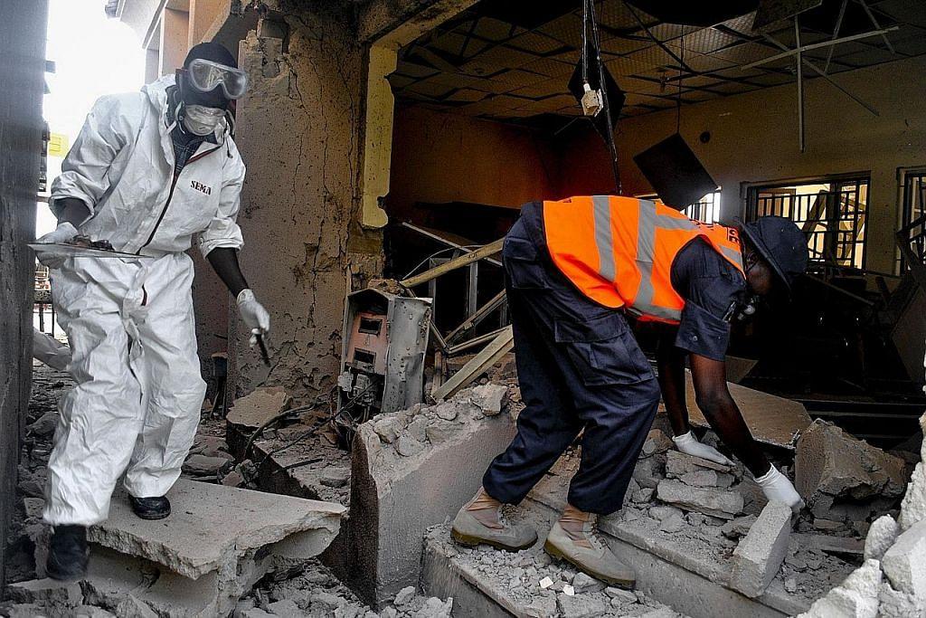 Siri letupan di Nigeria korbankan 9 orang