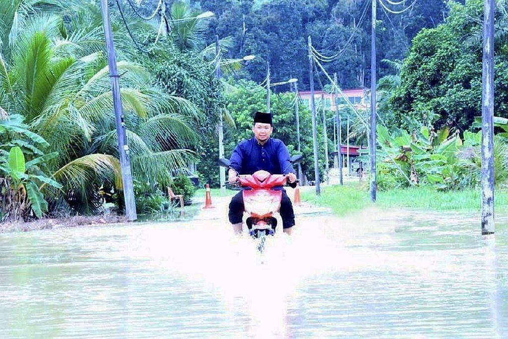 100 penduduk di Melaka terpaksa dipindahkan akibat banjir