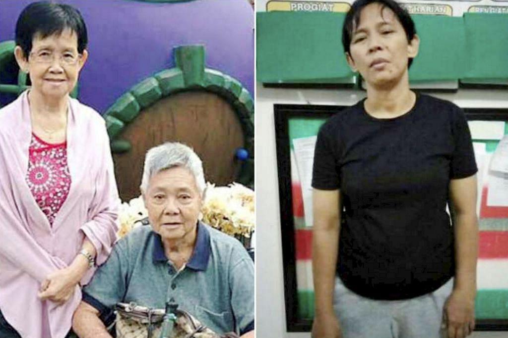 Kes bunuh dua warga tua di Bedok: Amah ditangkap di Indonesia