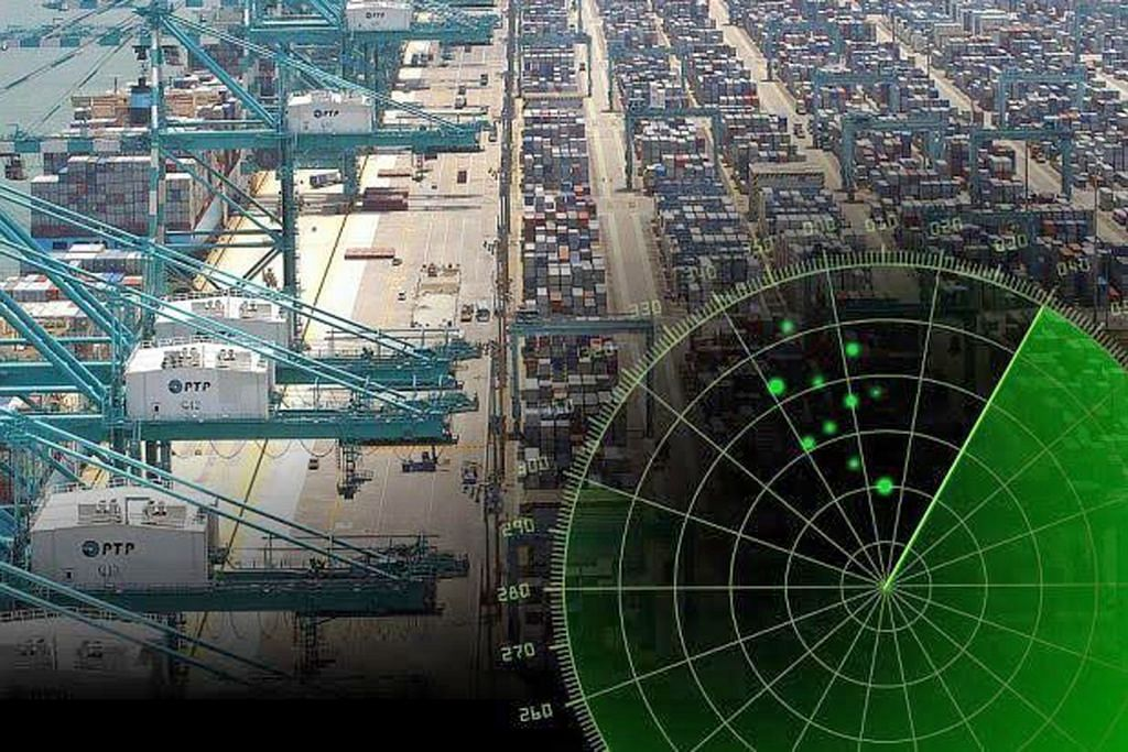 Peralatan radar tentera hilang di Pelabuhan Tanjung Pelepas