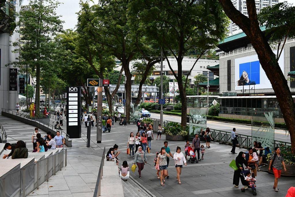 Tempat awam Orchard Rd bebas rokok Julai 2018