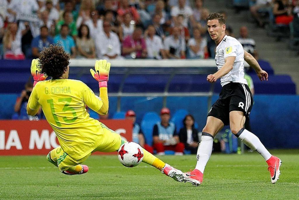 PIALA KONFEDERASI Jerman mara ke final