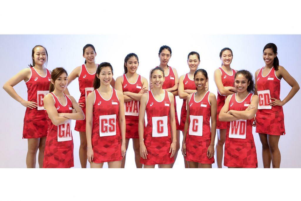 Baizura, Aqilah antara 12 pemain dipilih beraksi dalam Sukan SEA BOLA JARING