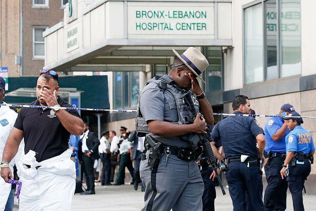 Lelaki tembak mati doktor, cederakan enam lagi di New York