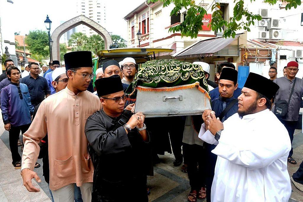 Mudir Madrasah Wak Tanjong meninggal dunia