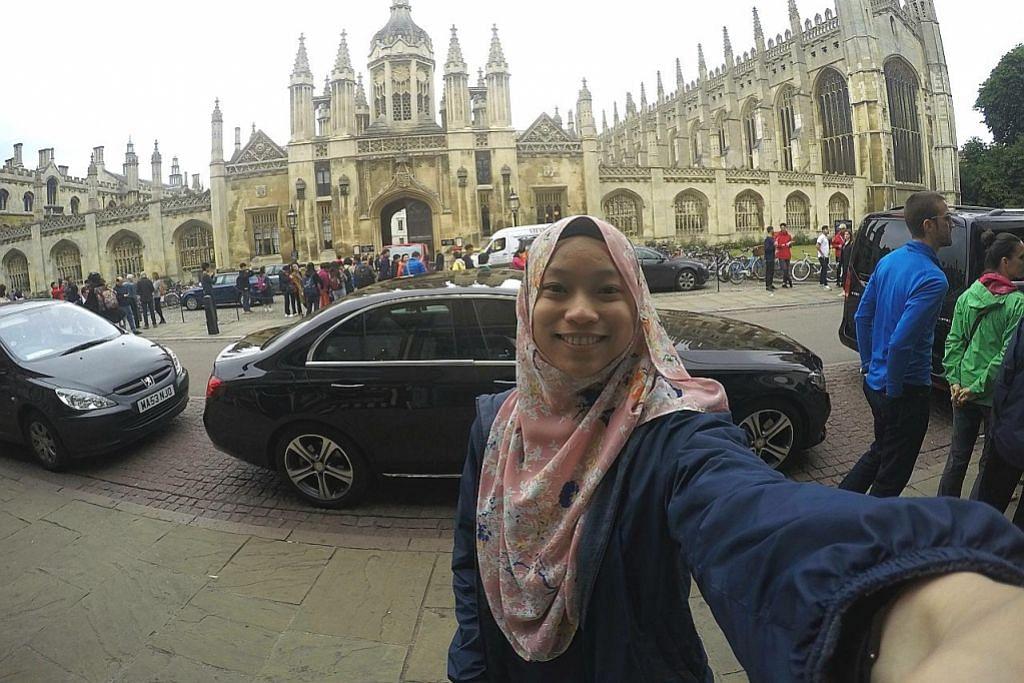 Hadir sidang dan sambut lebaran di Universiti Cambridge