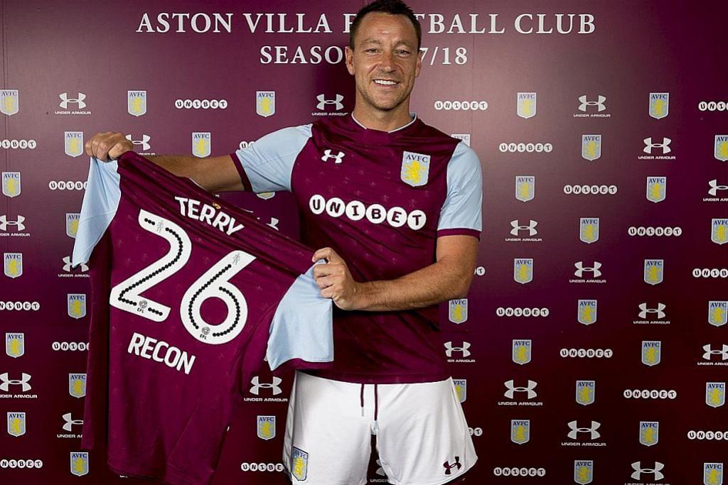 PERSONALITI SUKAN Terry mahu jadi pengurus Chelsea