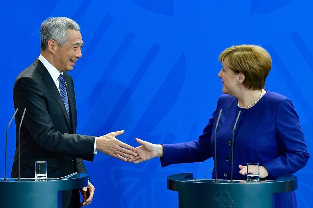 S'pura, Jerman setuju perkukuh kerjasama pelbagai bidang