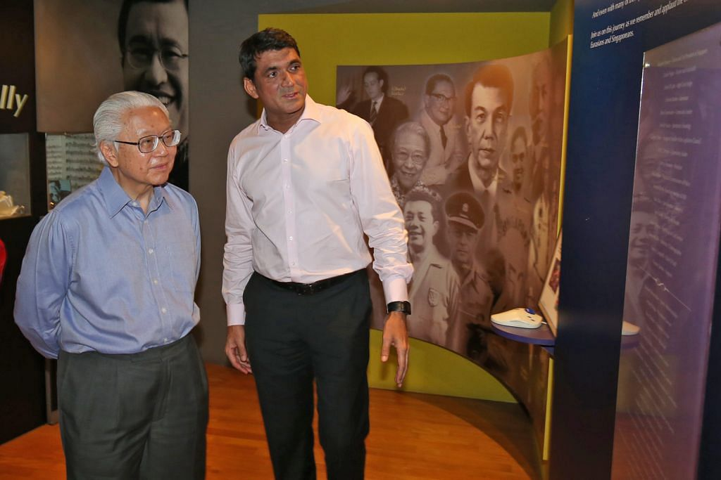 Presiden Tony Tan lawat Pusat Warisan Serani yang bakal diubahsuai