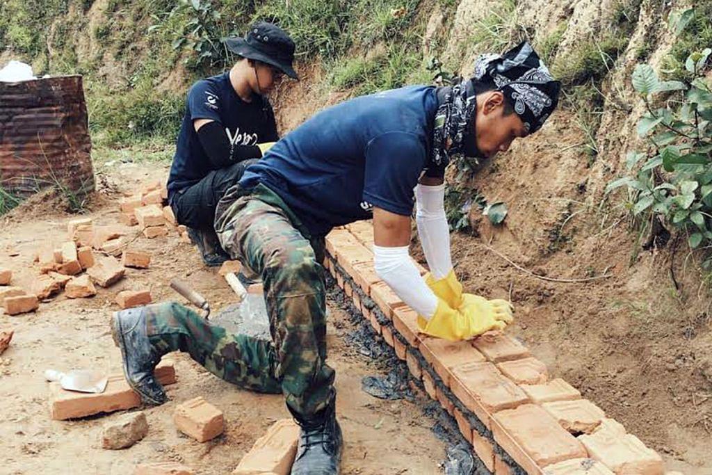 KEMBARA IHSAN 23 pelajar Perbayu ke Nepal bantu golongan memerlukan siswa NTU