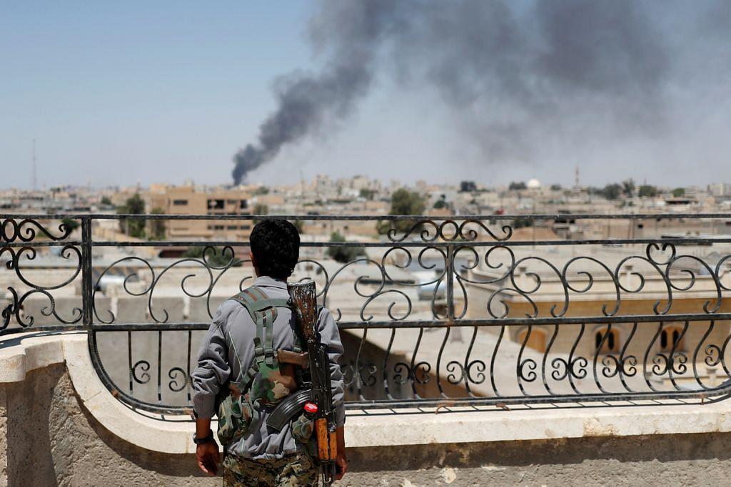 50,000 orang awam terperangkap dalam pertempuran di Raqqa