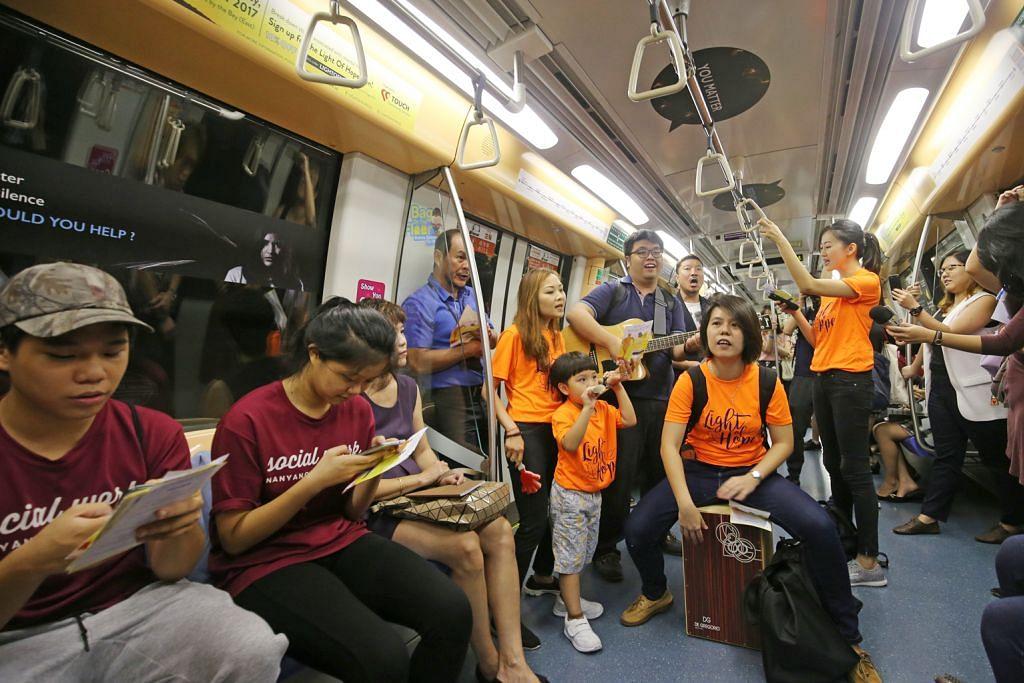 Tren MRT bertema pertingkat kesedaran kesihatan mental