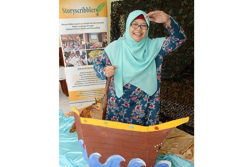 Semai cintai bahasa Melayu melalui bercerita