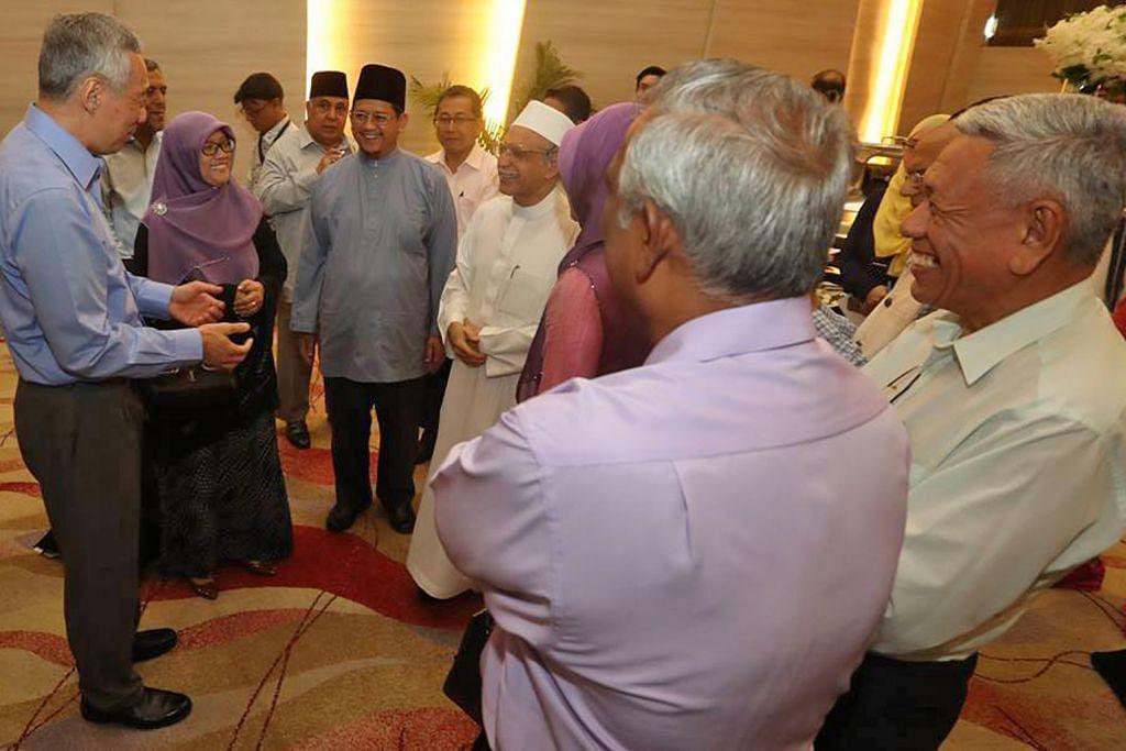 PM Lee bincang isu pengganasan dengan pemimpin masyarakat, agama