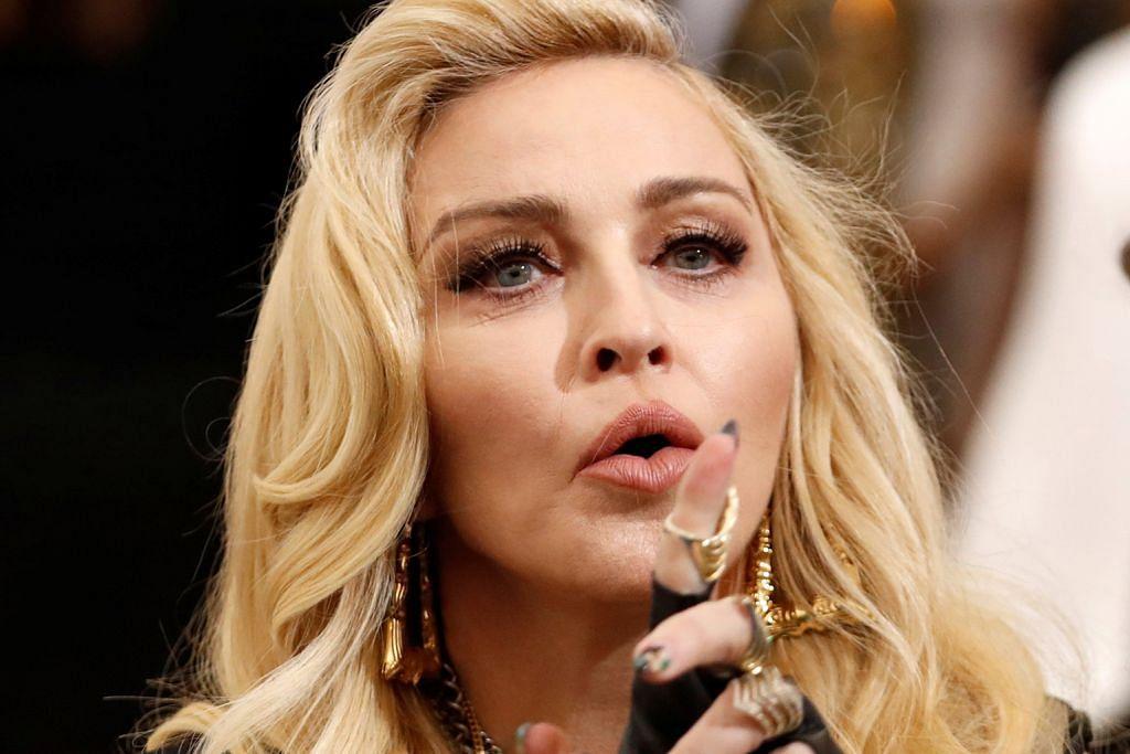 Madonna mohon mahkamah sekat lelong surat bekas kekasih