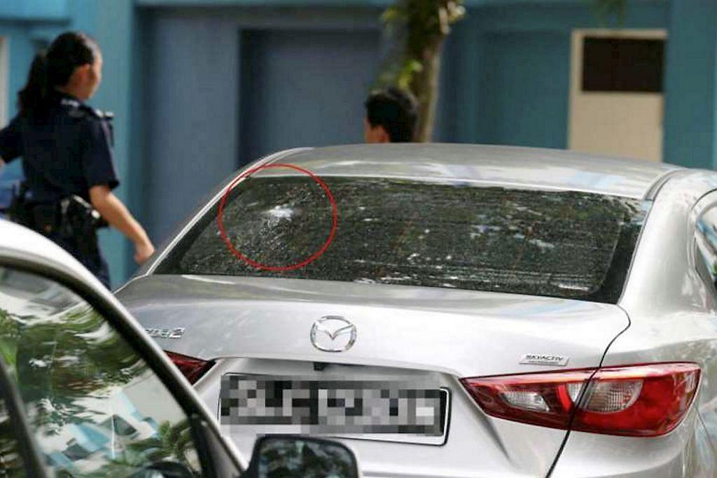 Tembak peluru palet ke kereta pengantin: Lelaki ditangkap