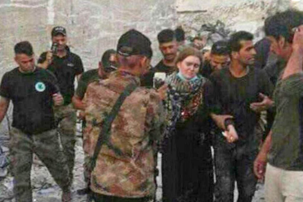 Remaja wanita Jerman antara yang ditahan di Mosul