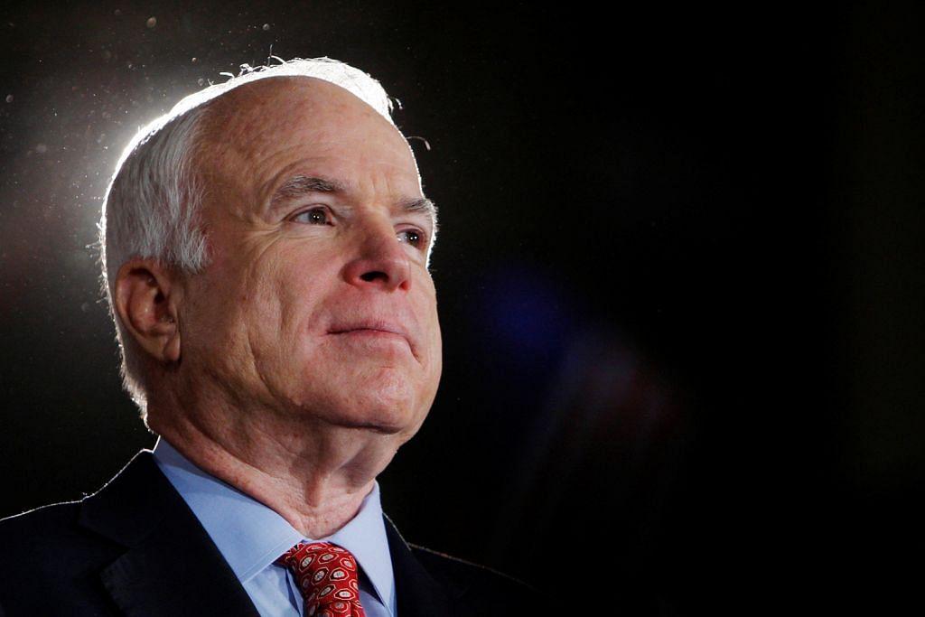 Senator McCain hidap barah otak