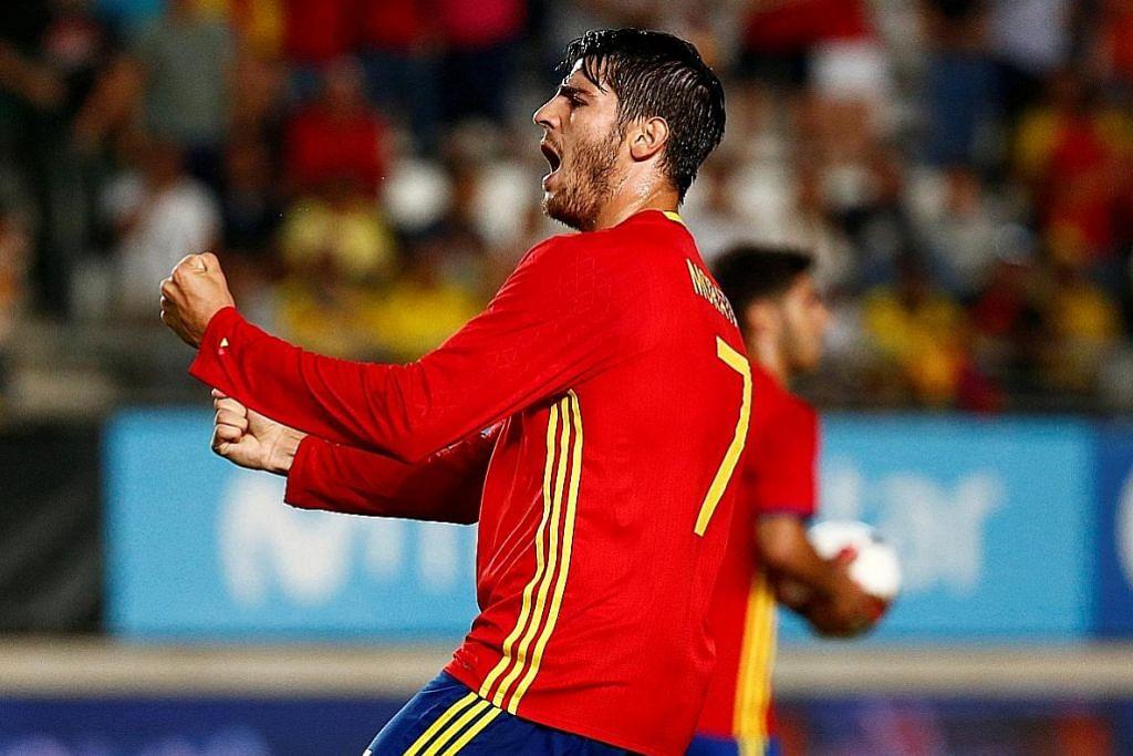 PEMINDAHAN PEMAIN Morata laungkan Chelsea 'kelab terbaik'