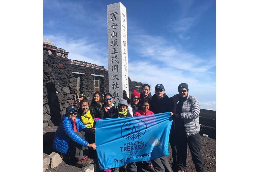 10 pendaki Hawa berjaya tawan Gunung Fuji demi amal