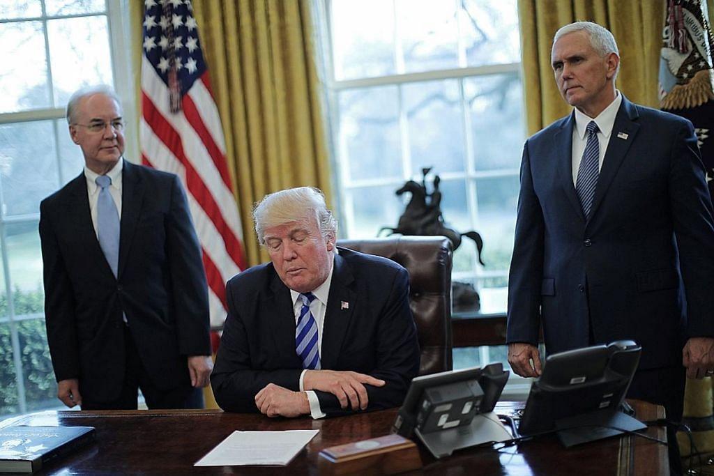 Cabaran Trump: Sukar hapuskan pelan kesihatan Obamacare