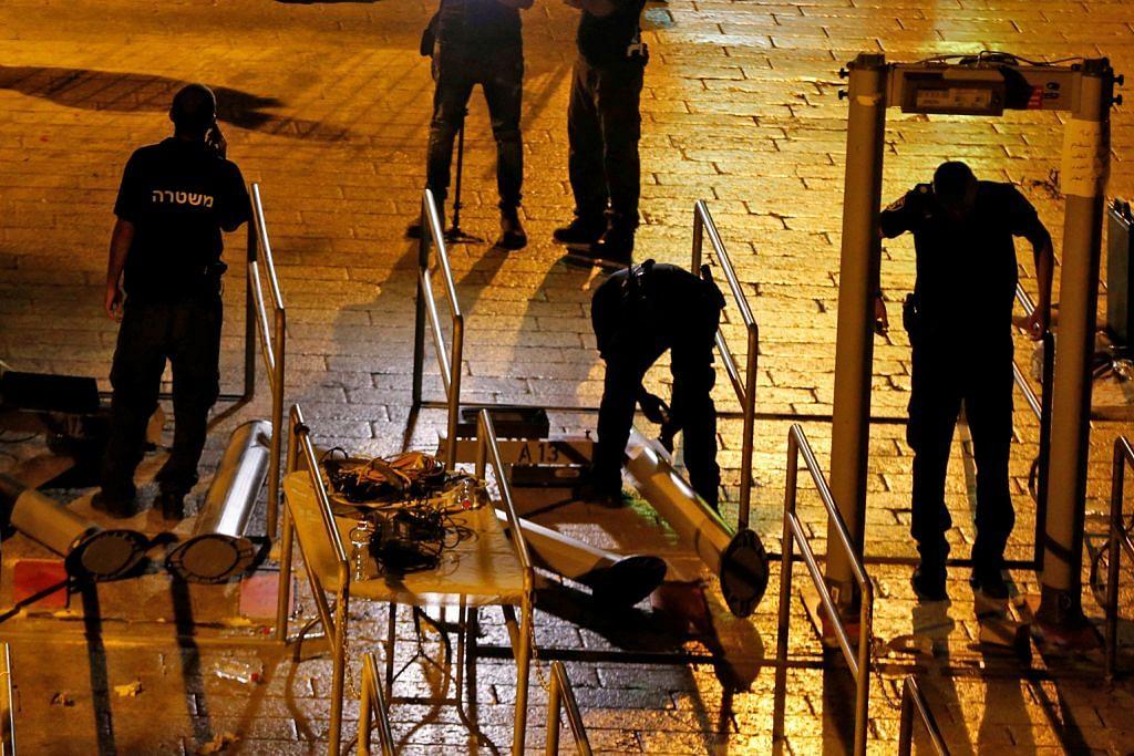 Israel henti guna pengesan logam di pintu masuk dekat Masjid Al-Aqsa