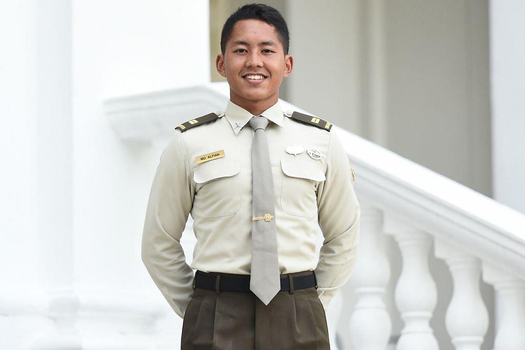 Raih Biasiswa Merit SAF hasil kepimpinan cemerlang