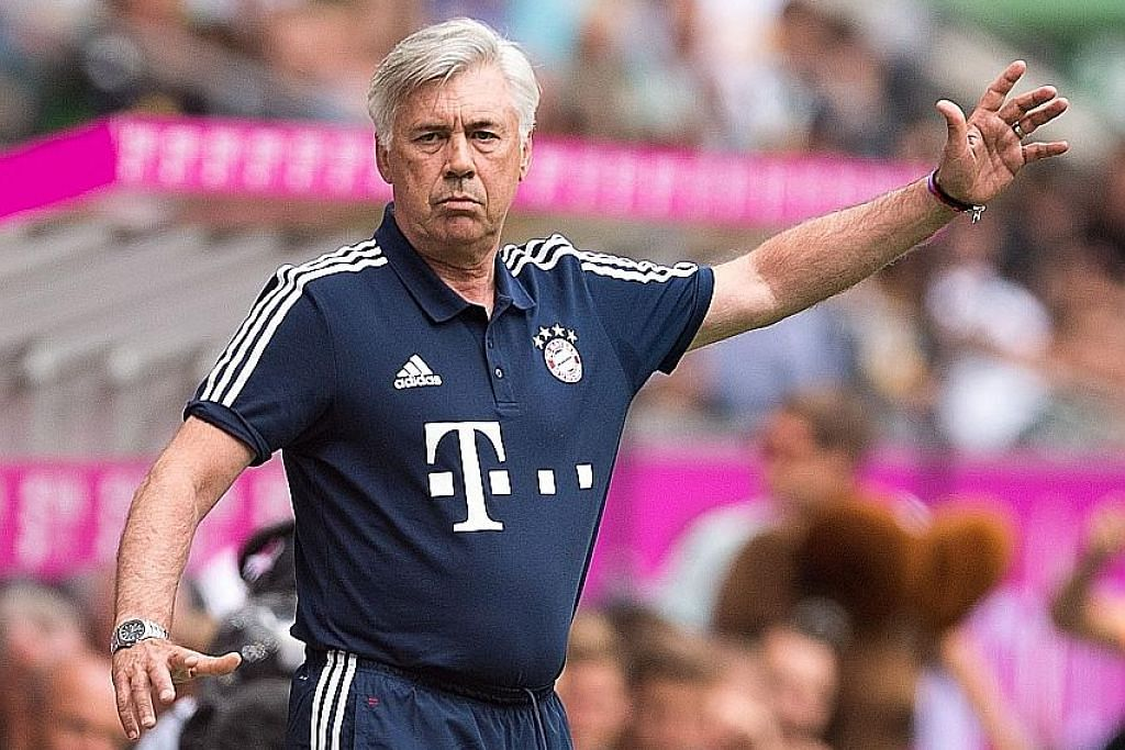 Ancelotti jangkakan musim baru yang hebat bagi Bayern ICC @ STADIUM NEGARA