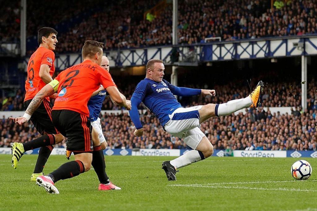 Rooney 'biasa-biasa', Everton menang tipis KELAYAKAN LIGA EUROPA