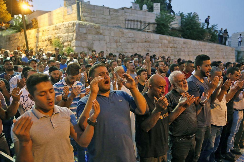Jemaah akhiri boikot, solat di Masjid Al-Aqsa
