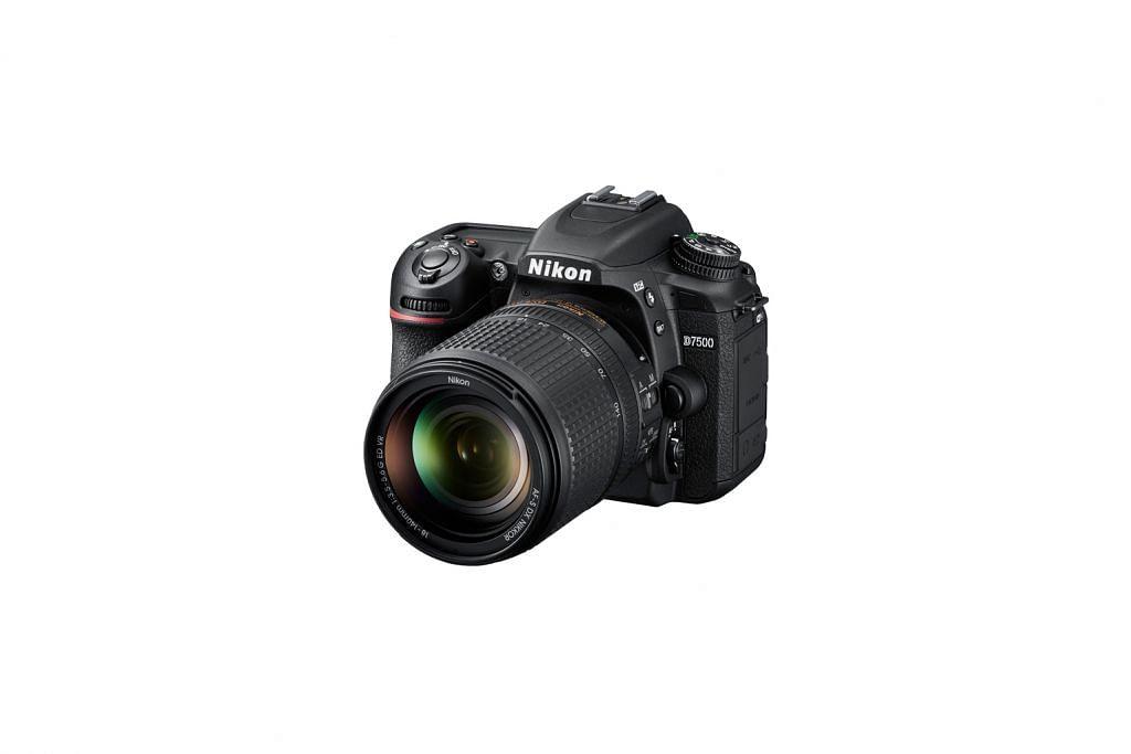Kamera Nikon D7500 pantas, selesa diguna