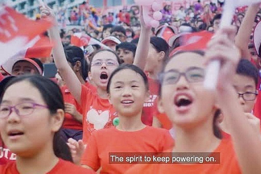 SAMBUTAN HARI KEBANGSAAN Video demi hidupkan semangat 'Majulah'