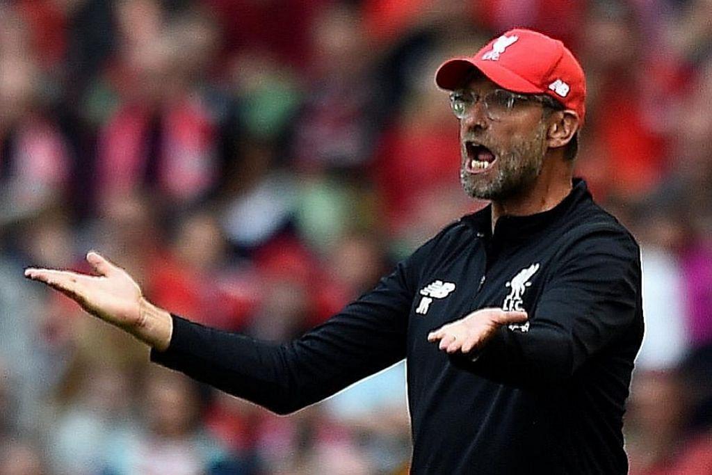 'PENYELAMAT' DI ANFIELD: Harapan besar diletak di pundak Juergen Klopp, yang kini memasuki musim ketiga memimpin Liverpool. Klopp tentunya menuntut pasukannya terus menunjukkan peningkatan musim ini. - Foto REUTERS