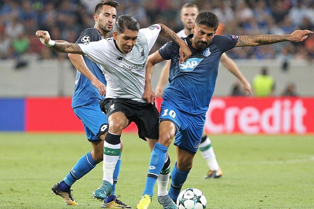 Kemenangan beri Liverpool kelebihan ke atas Hoffenheim KELAYAKAN LIGA JUARA-JUARA