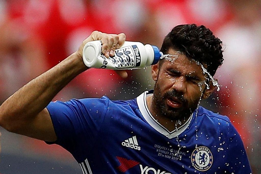 Diego Costa didenda Chelsea kerana tak balik sertai latihan
