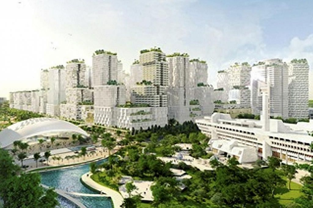 EKONOMI Bandar teknologi Daerah Tasik Jurong disulam unsur alam EMPAT STRATEGI UBAH DAERAH TASIK JURONG (JLD) JADI KAWASAN PUSAT BANDAR KEDUA