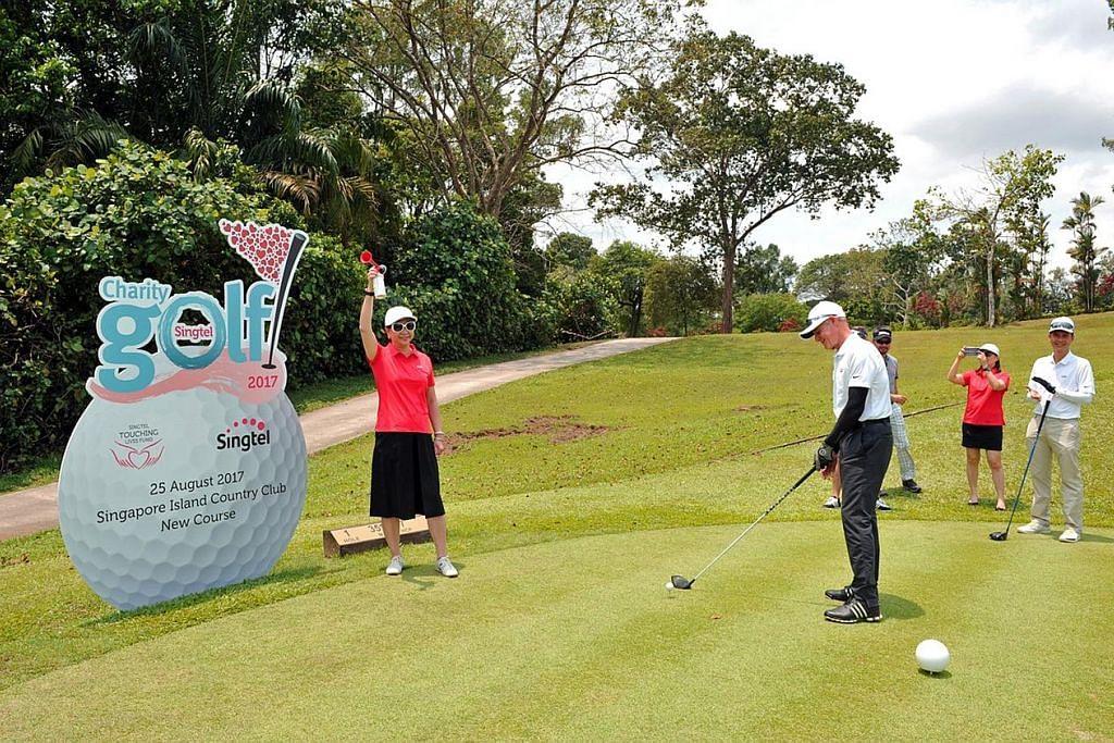 Golf Amal Singtel kumpul $1.2j