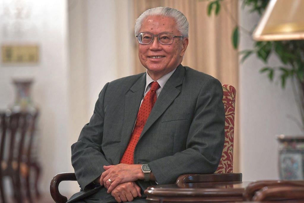 Presiden Tony Tan mengenai Pilihan Raya Presiden khas buat Melayu