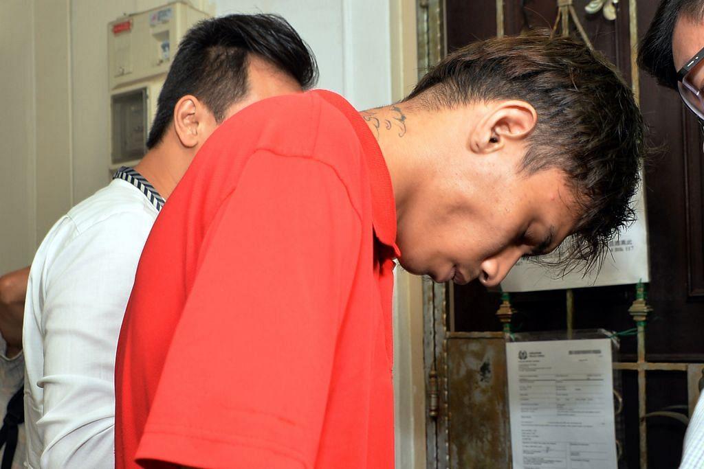 Suspek budak suruhan tailong dibawa ke tempat jenayah
