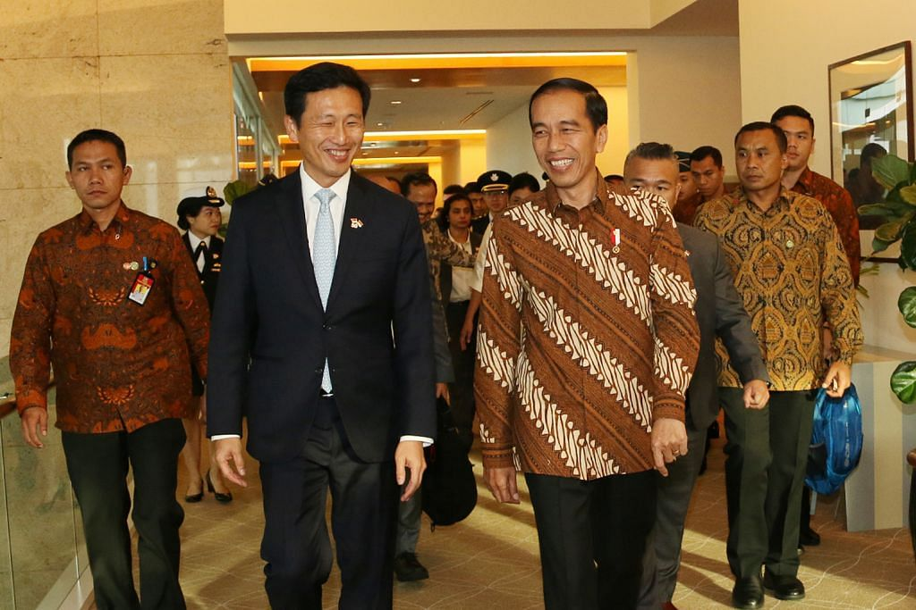 Ye Kung sambut ketibaan Presiden Jokowi