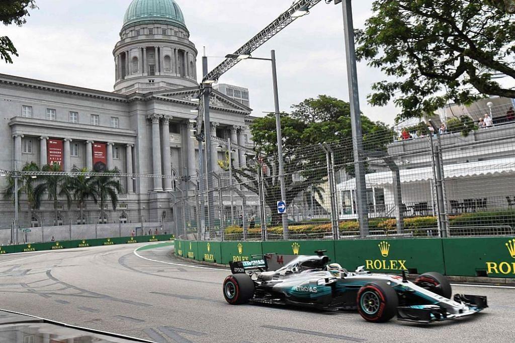 Red Bull, Ferrari pantas sekali, Hamilton terus beri saingan F1 - GRAND PRIX SINGAPURA SINGAPORE AIRLINES