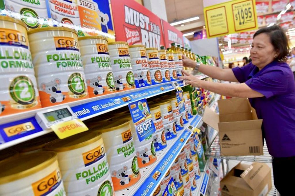 NTUC FairPrice lancar susu formula kanak-kanak lebih dimampui