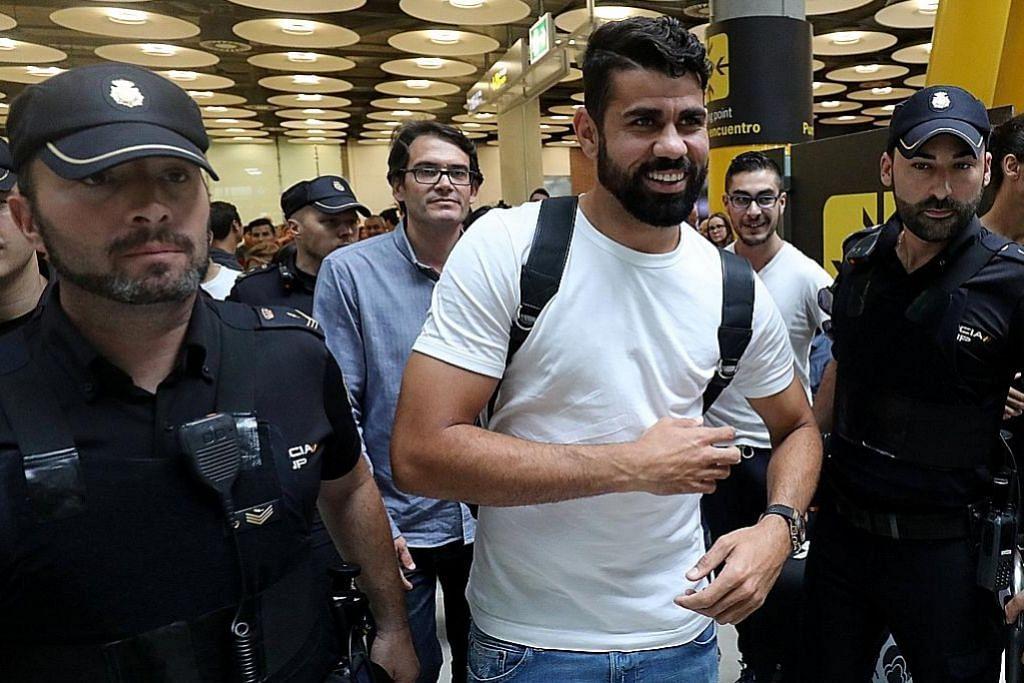 Costa gembira akhirnya 'pulang ke rumah' di Atletico PERSONALITI SUKAN