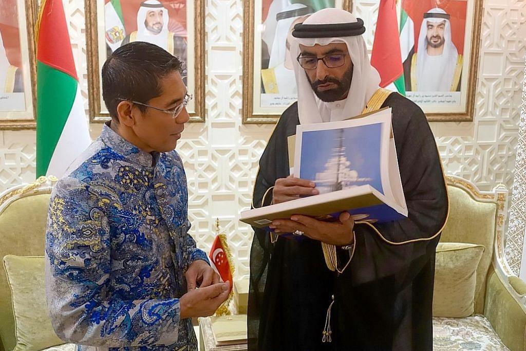 Maliki ke Abu Dhabi, Dubai jalin hubungan berterusan SG, negara Teluk