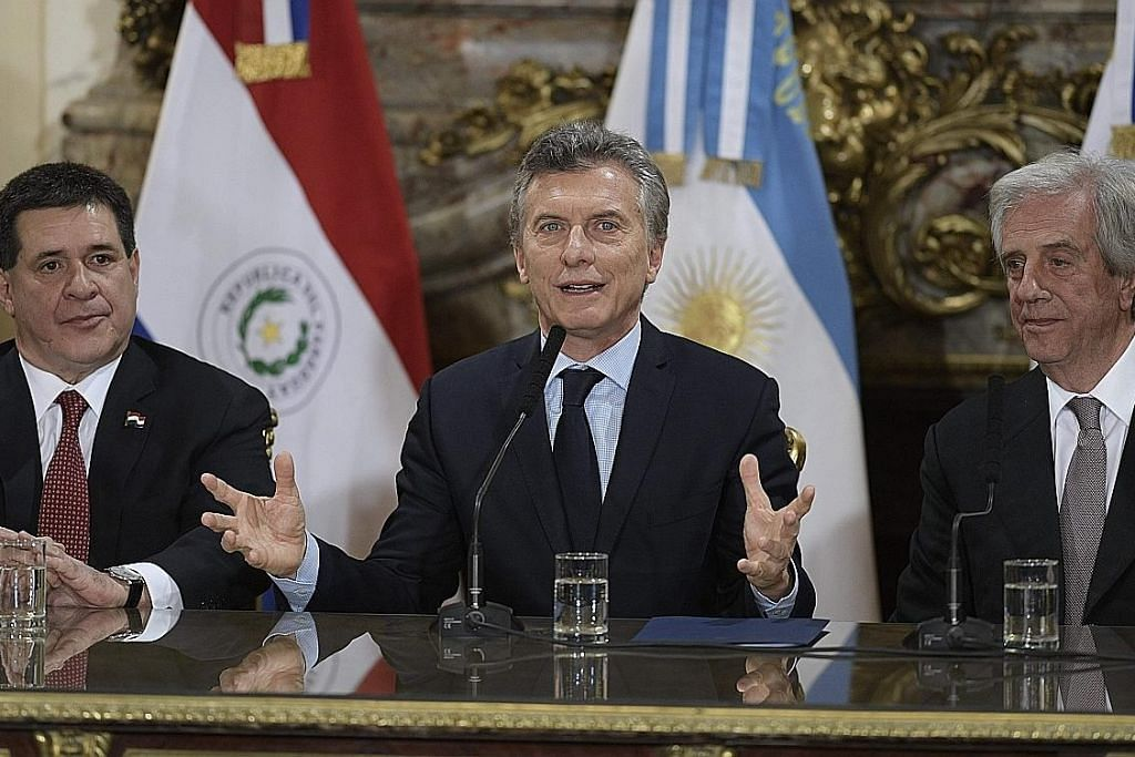 PERMOHONAN PIALA DUNIA 2030 Argentina, Uruguay dan Paraguay lahir hasrat jadi hos bersama
