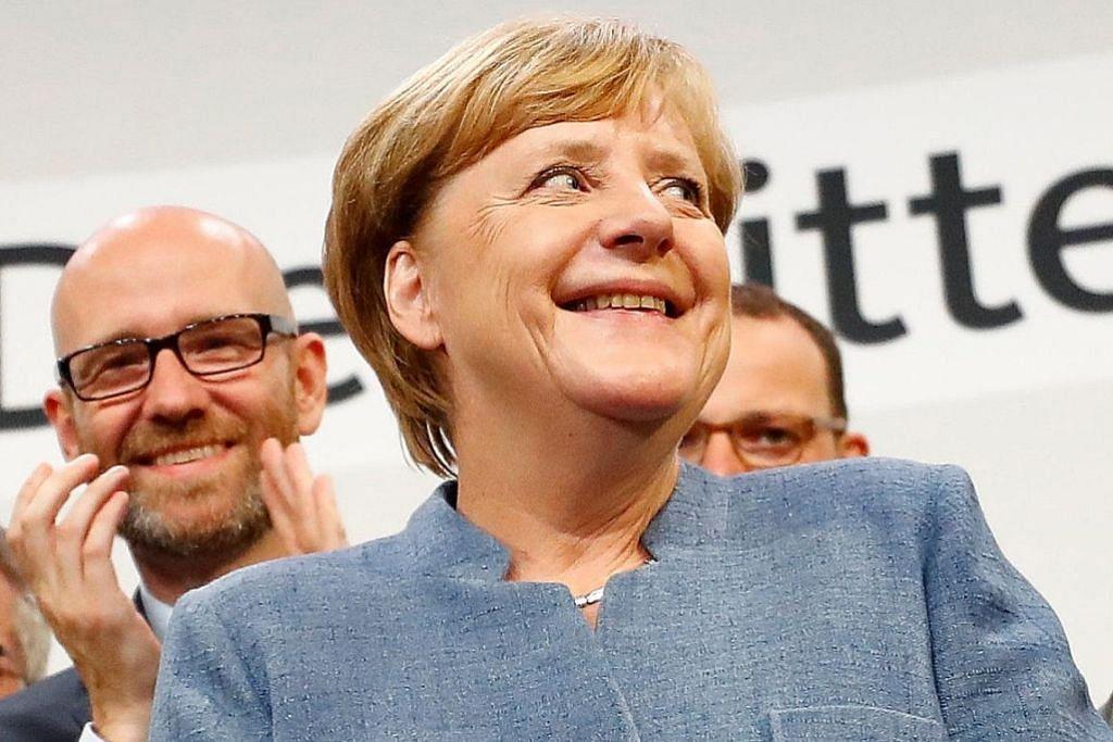 Kejayaan Merkel dibayangi kebangkitan parti nasionalisme