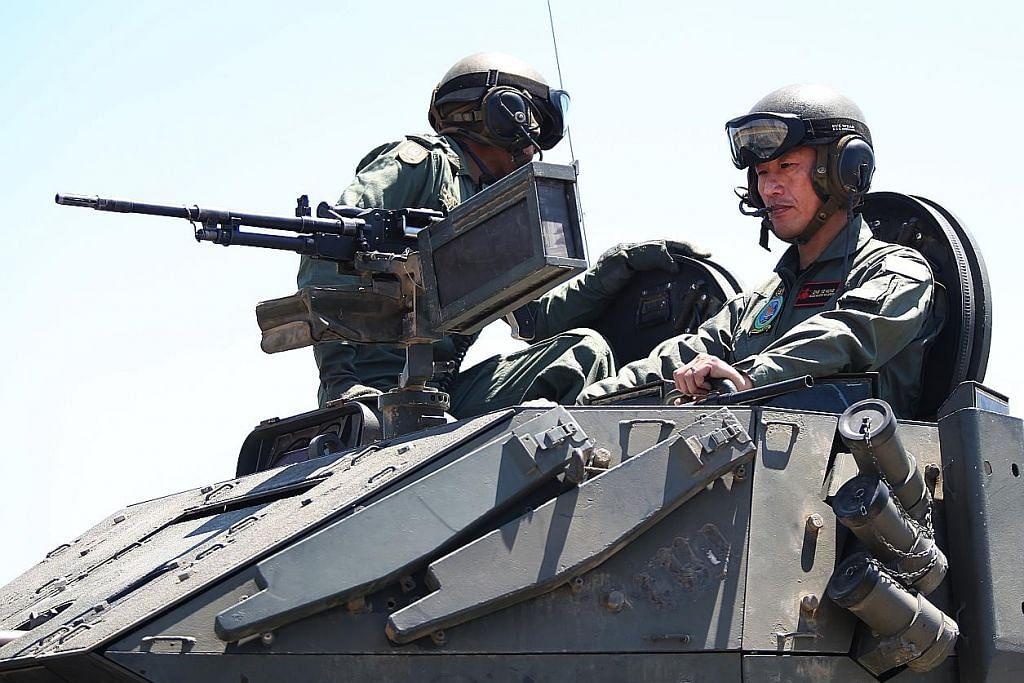 Ye Kung yakin pada tahap keselamatan latihan LATIHAN WALLABY SAF DI AUSTRALIA