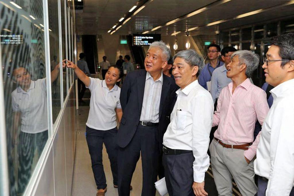Delegasi China, Korea S, Jepun lawat 3 stesen MRT