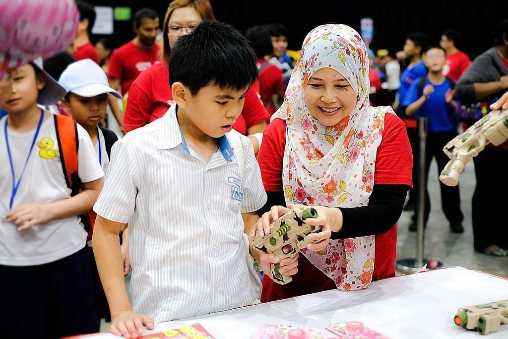 1,500 pelajar keperluan khas sertai karnival Singtel